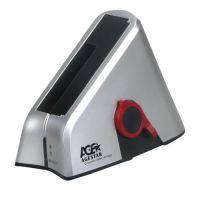 """Док-станция для HDD 2.5""""+3.5"""" SATA AgeStar SCBT, USB 2.0, eSATA, серебр., Rtl"""