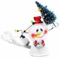 Веселый снежок USB, Orient NY5183, подсветка 7 цветов